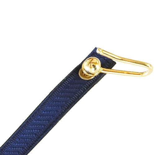 Gold-plated blue ceremonial sling for sword