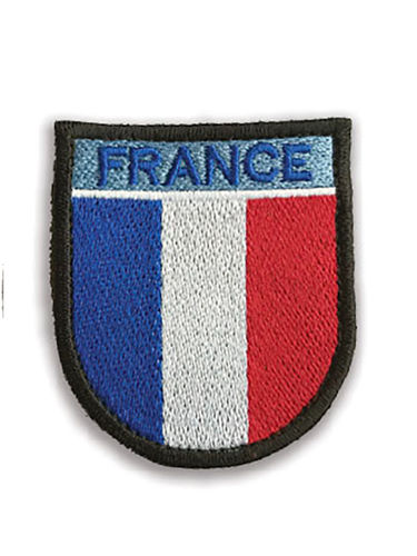 Ecusson FRANCE avec velcro