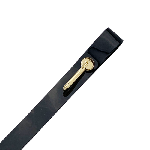 Gold-plated ceremonial leather sling for sword